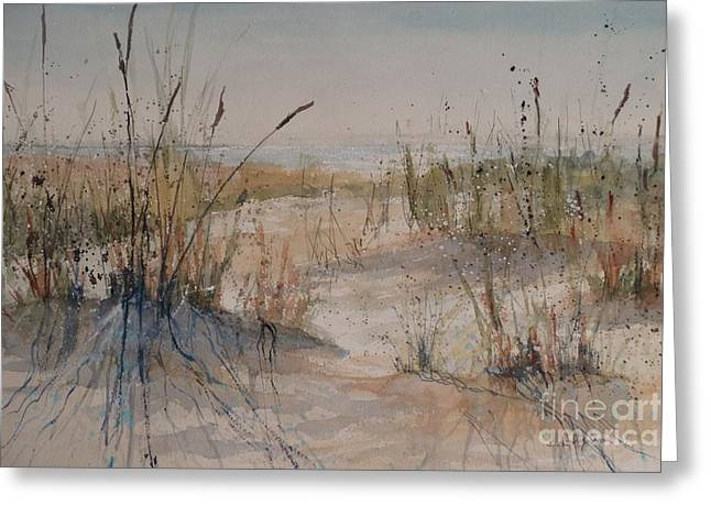 Lake Michigan Dune Greeting Card
