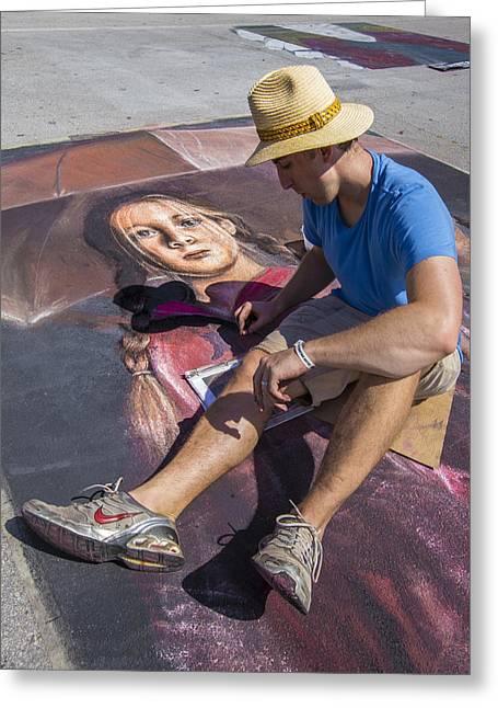 Lake Worth Street Painting Festival Greeting Card
