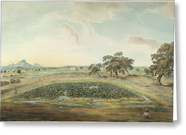 Landscape Greeting Card by British Library