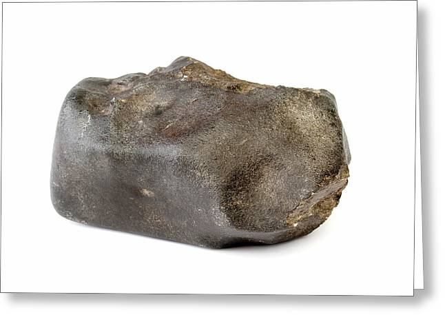 Launton Meteorite Greeting Card by Natural History Museum, London