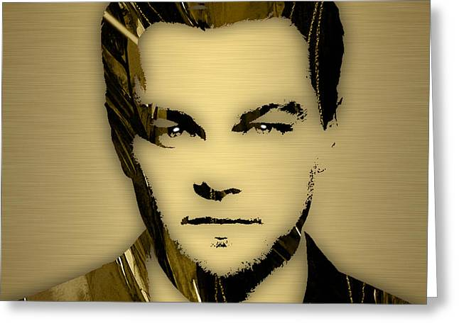 Leonardo Dicaprio Collection Greeting Card by Marvin Blaine
