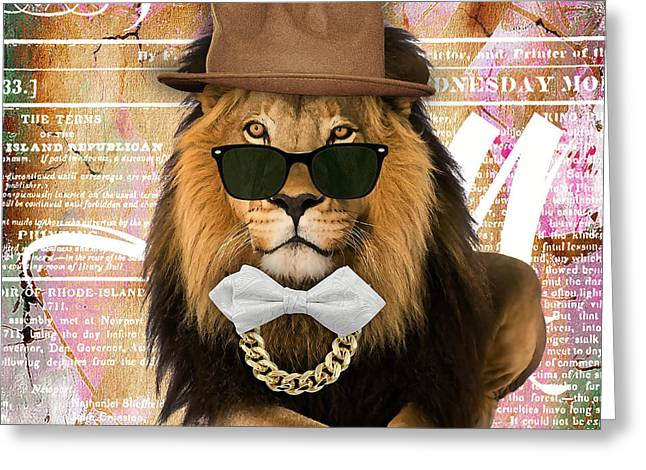Lion Collection Greeting Card