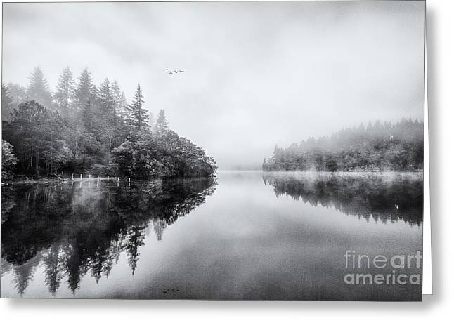 Loch Ard Greeting Card by John Farnan