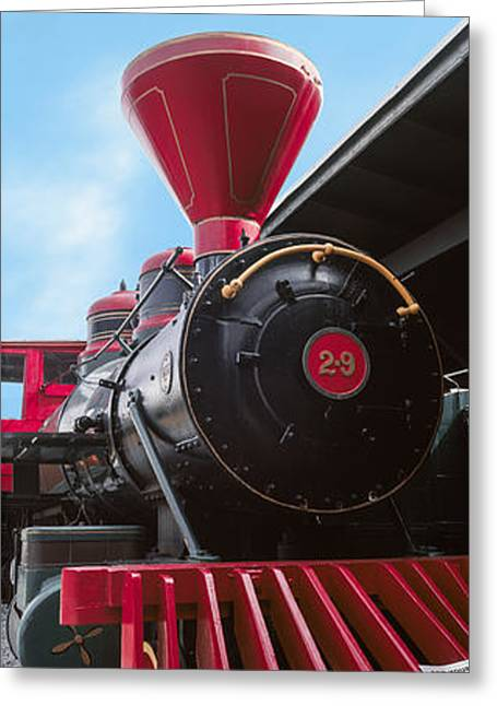Locomotive At The Chattanooga Choo Greeting Card