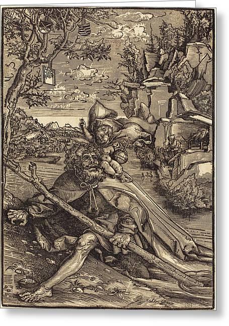 Lucas Cranach The Elder German, 1472 - 1553 Greeting Card