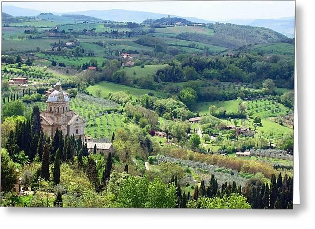 Madonna Di San Biagio Greeting Card