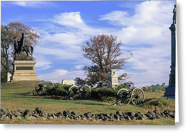 Major General Winfield Scott Hancock Greeting Card by Panoramic Images