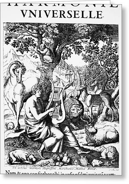 Marin Mersenne (1588-1648) Greeting Card