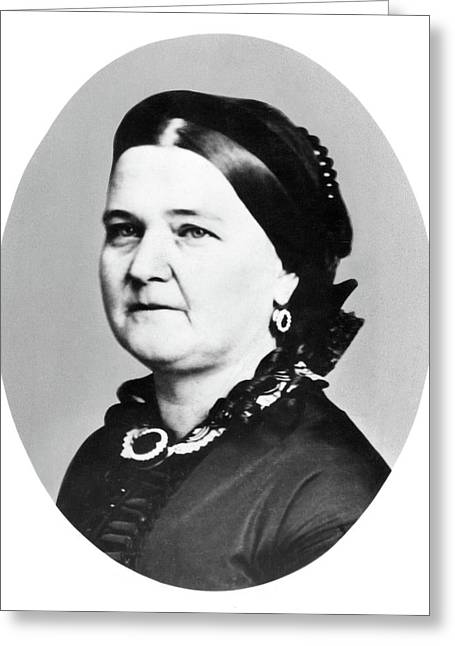 Mary Todd Lincoln (1818-1882) Greeting Card by Granger