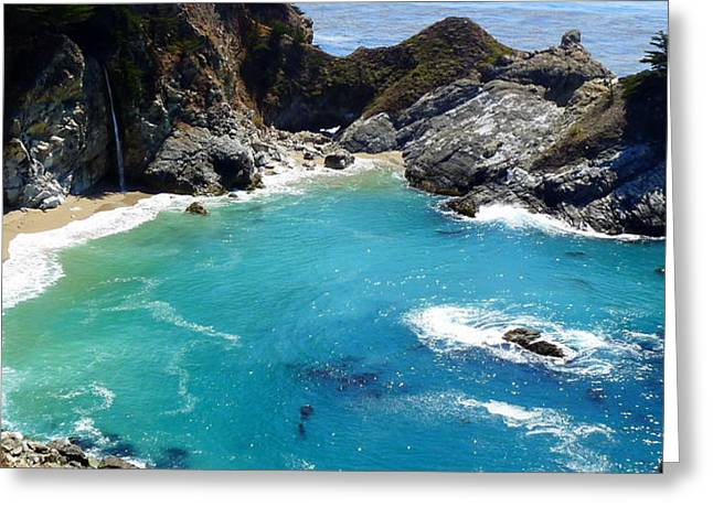 Mcway Falls Greeting Card by Jeff Lowe