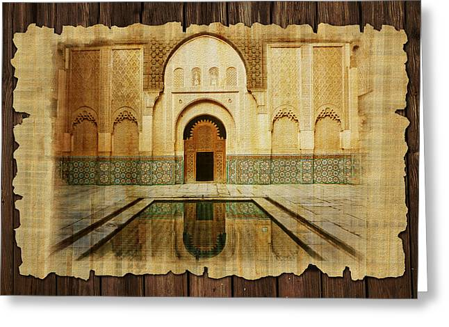 Medina Of Marakkesh Greeting Card