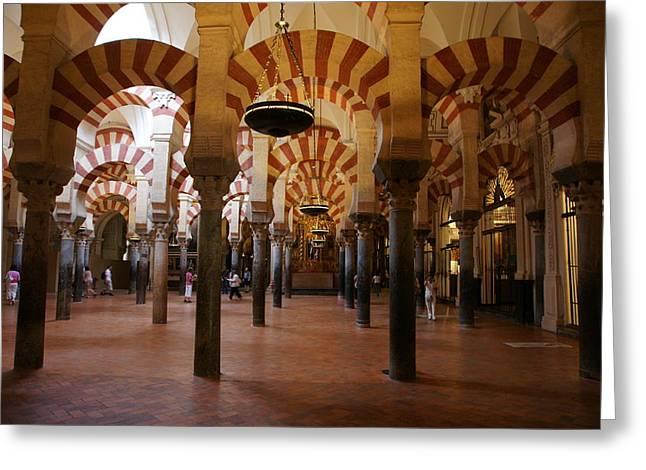 Mezquita De Cordoba Greeting Card