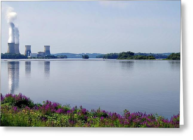 3 Mile Island Greeting Card