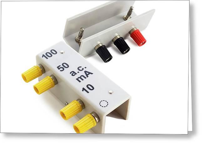 Multipurpose Meter Shunts Greeting Card
