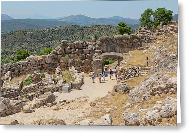 Mycenae, Greece Greeting Card