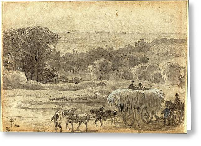 Myles Birket Foster, British 1825-1899 Greeting Card