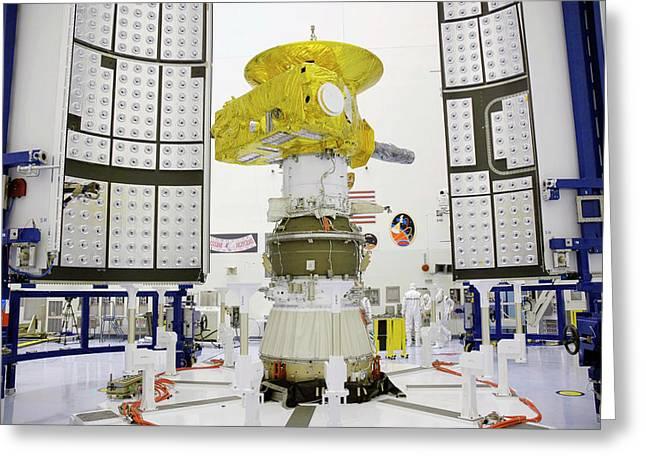 New Horizon's Spacecraft Greeting Card by Nasa