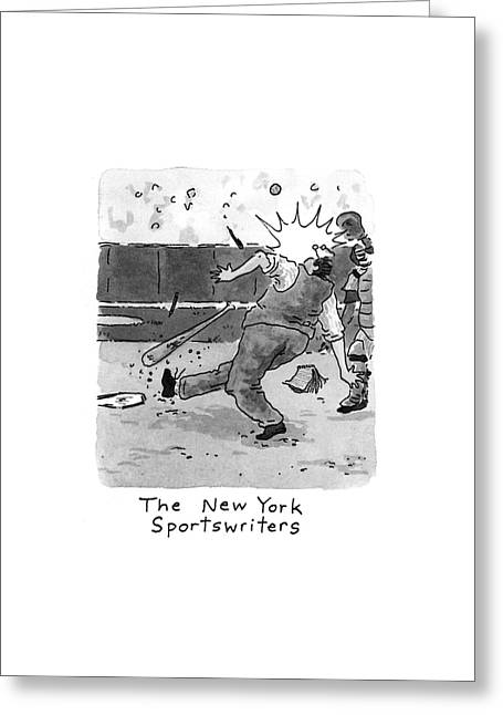 New Yorker April 5th, 1993 Greeting Card by Danny Shanahan