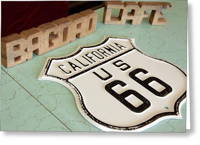Newberry Springs, California, United Greeting Card