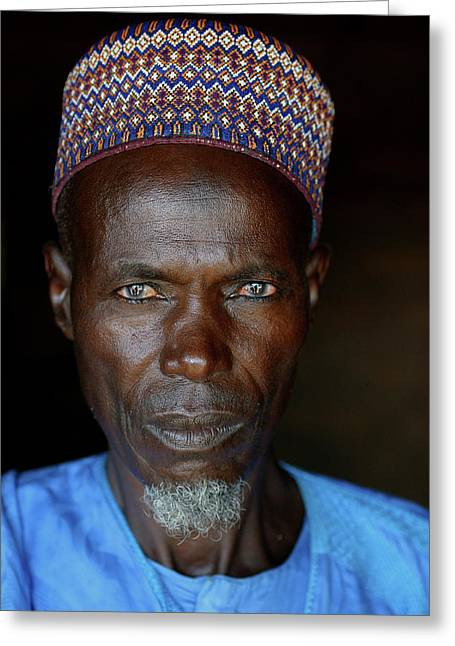 Nigeria Slums Greeting Card