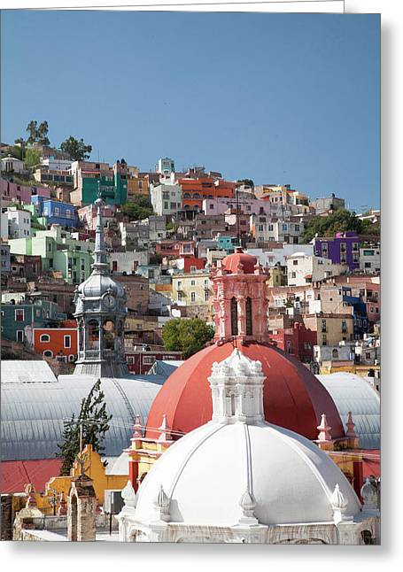 North America, Mexico, Guanajuato Greeting Card