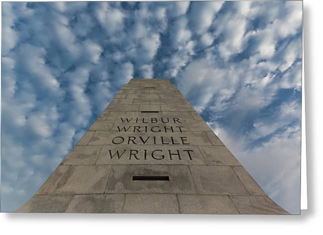 North Carolina, Kill Devil Hills Greeting Card by Walter Bibikow