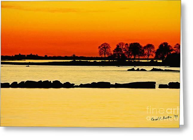 Ocean Beach Sunset Greeting Card