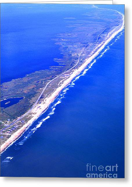 Outer Banks Aerial Greeting Card