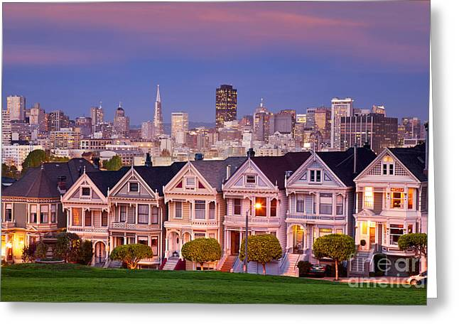 Painted Ladies Greeting Card by Brian Jannsen