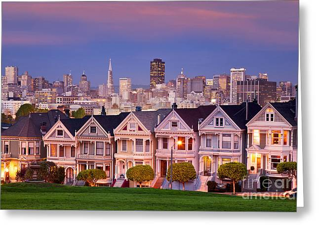 Greeting Card featuring the photograph Painted Ladies by Brian Jannsen