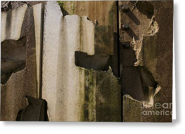 Greeting Card featuring the photograph 3 Pegs Abstract IIi by Sherry Davis