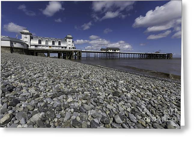 Penarth Pier 2 Greeting Card by Steve Purnell