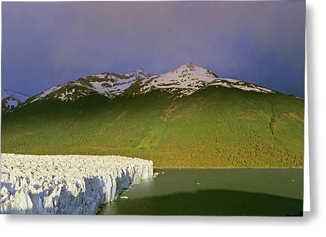 Perito Moreno Glacier In The Los Greeting Card