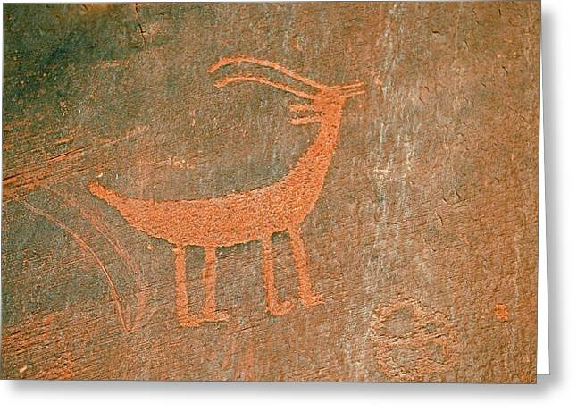Petroglyphs Greeting Card by Bildagentur-online/mcphoto-schulz
