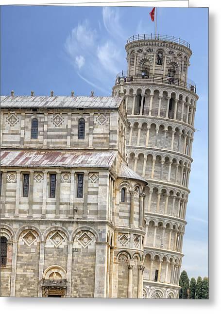 Pisa Greeting Card