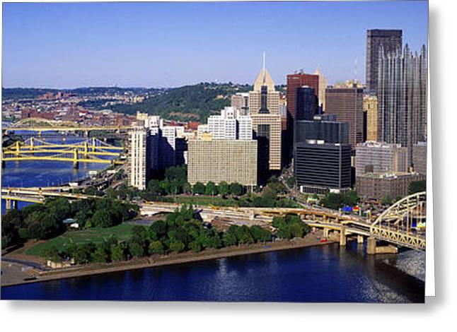 Pittsburgh, Pennsylvania, Usa Greeting Card