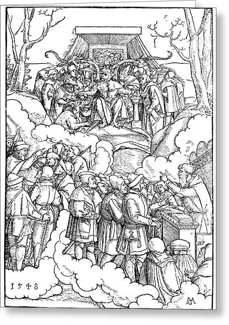 Protestant Reformation Greeting Card by Granger