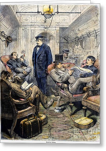 Pullman Car, 1876 Greeting Card by Granger