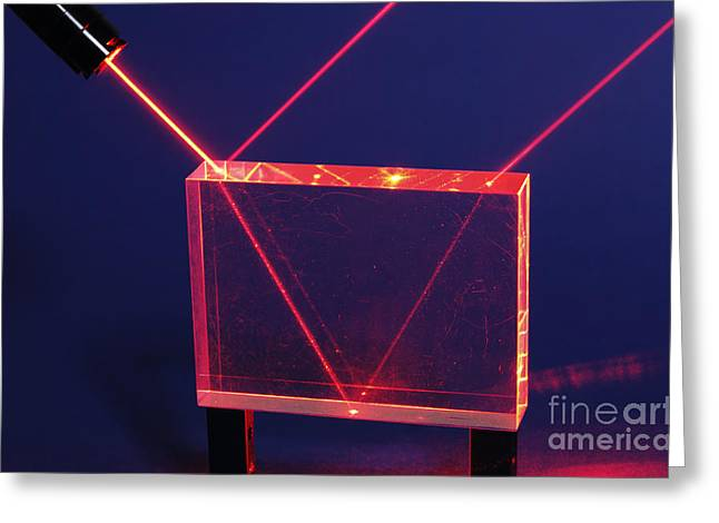 Reflection And Refraction Greeting Card by GIPhotoStock