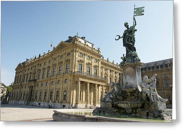Residenz Wurzburg  Greeting Card