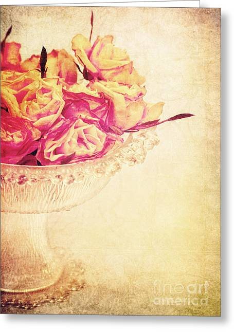 Romance Greeting Card by Angela Doelling AD DESIGN Photo and PhotoArt