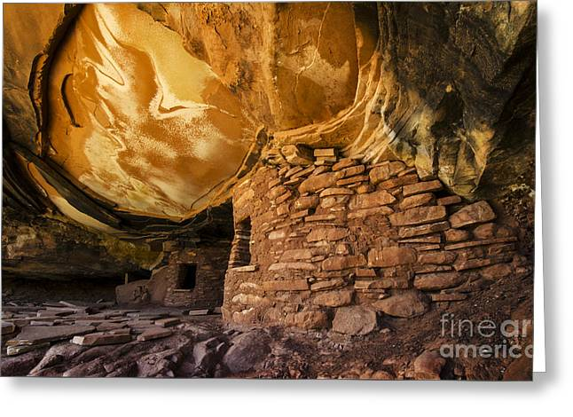 Ancient Spaces Utah Greeting Card by Bob Christopher