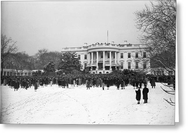 Roosevelt Inauguration Greeting Card