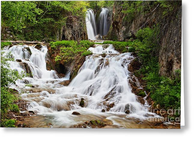Roughlock Falls Greeting Card
