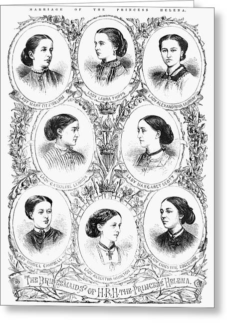 Royal Wedding, 1866 Greeting Card by Granger
