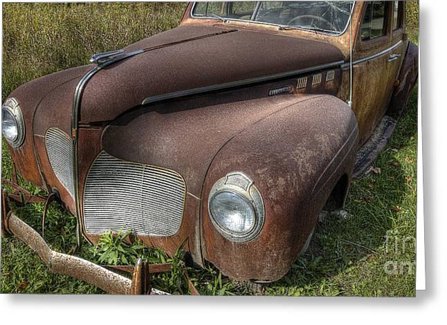 Rusty Desoto Greeting Card by Twenty Two North Photography