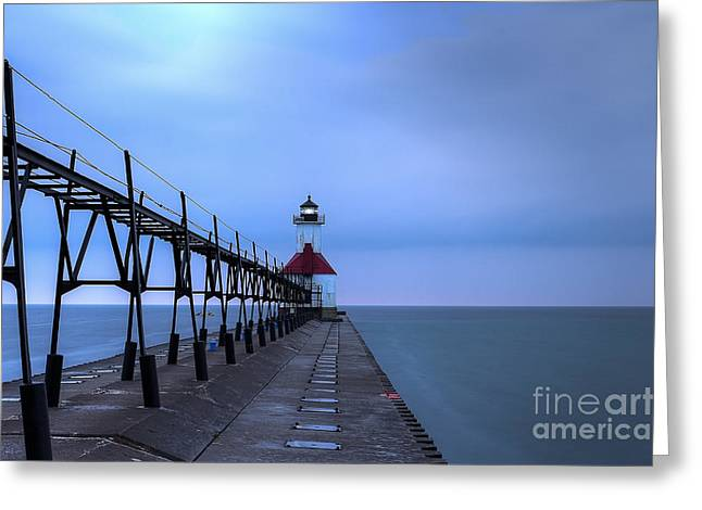 Saint Joseph Lighthouse Greeting Card by Twenty Two North Photography