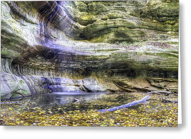Saint Louis Canyon At Starved Rock Greeting Card