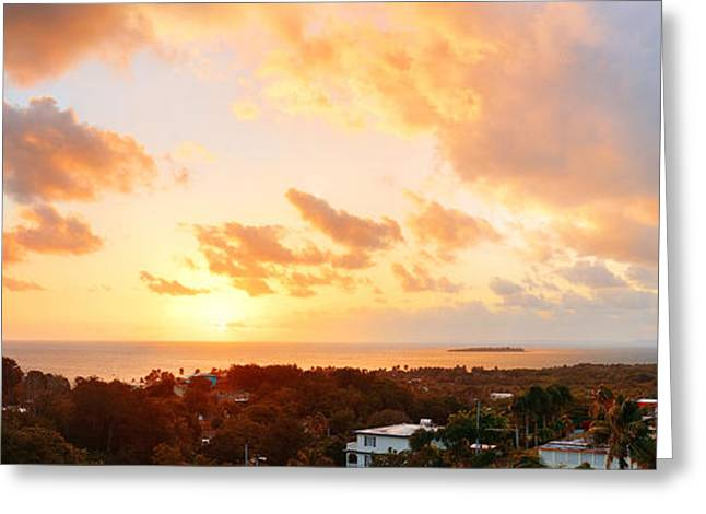 San Juan Sunrise Greeting Card