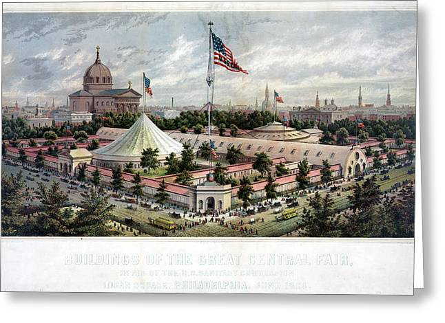 Sanitary Fair, 1864 Greeting Card by Granger